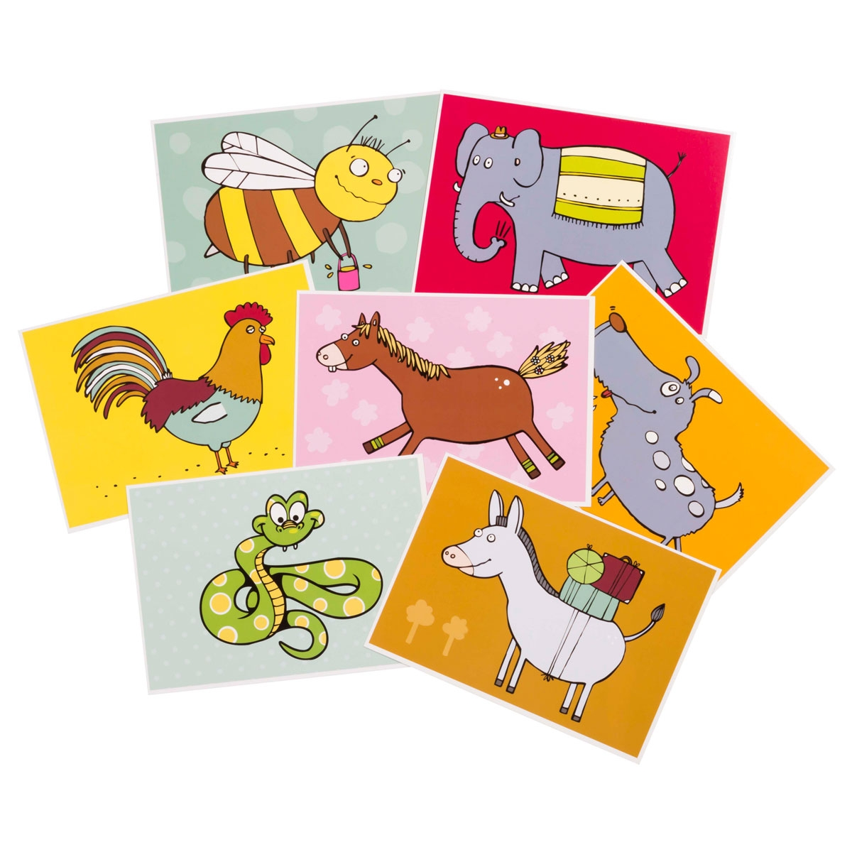Educational Cards - Animals