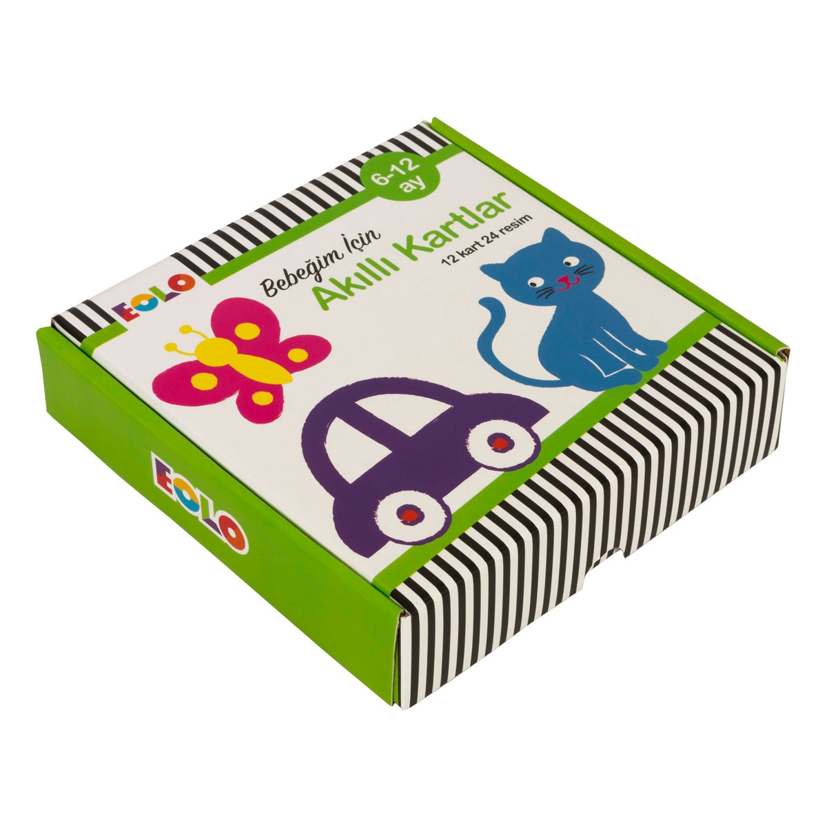 EOLO – Smart Cards Intended for 6 to 12 Month Babies