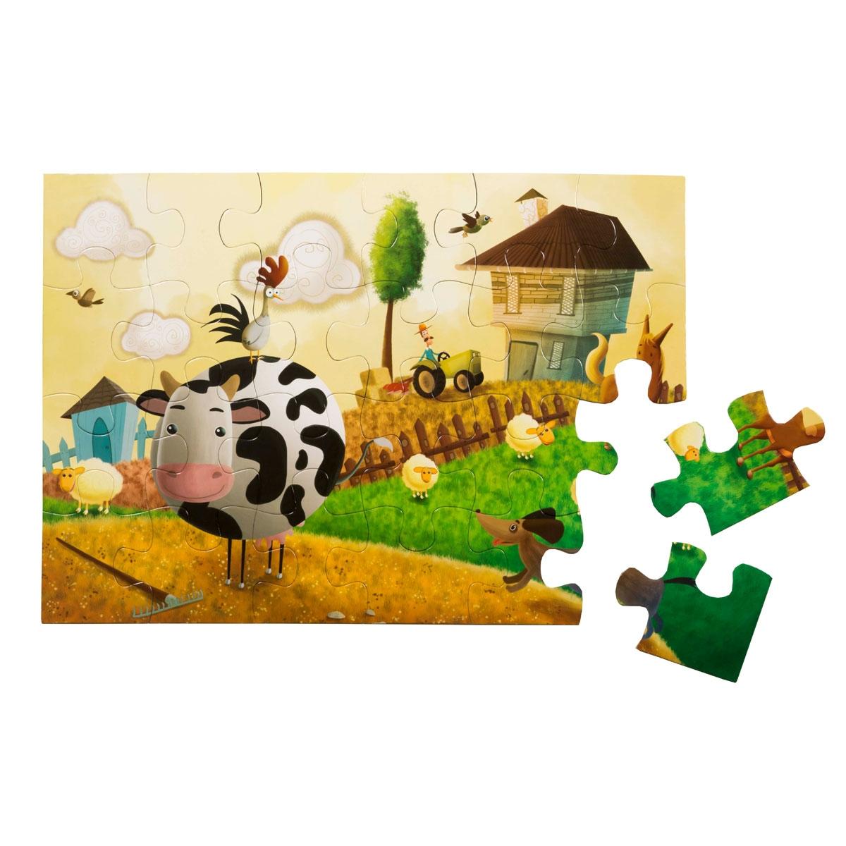 Floor Puzzle - At the Farm