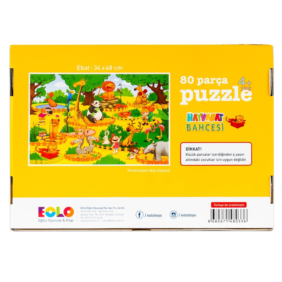 Floor Puzzle – Zoo