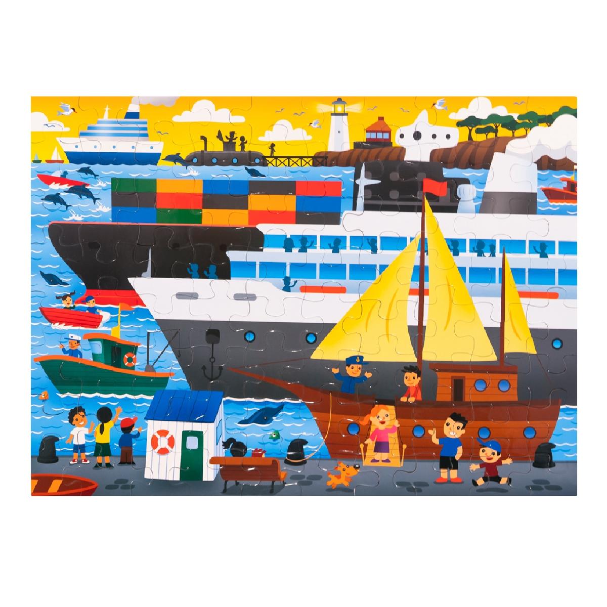 Floor Puzzle – Port