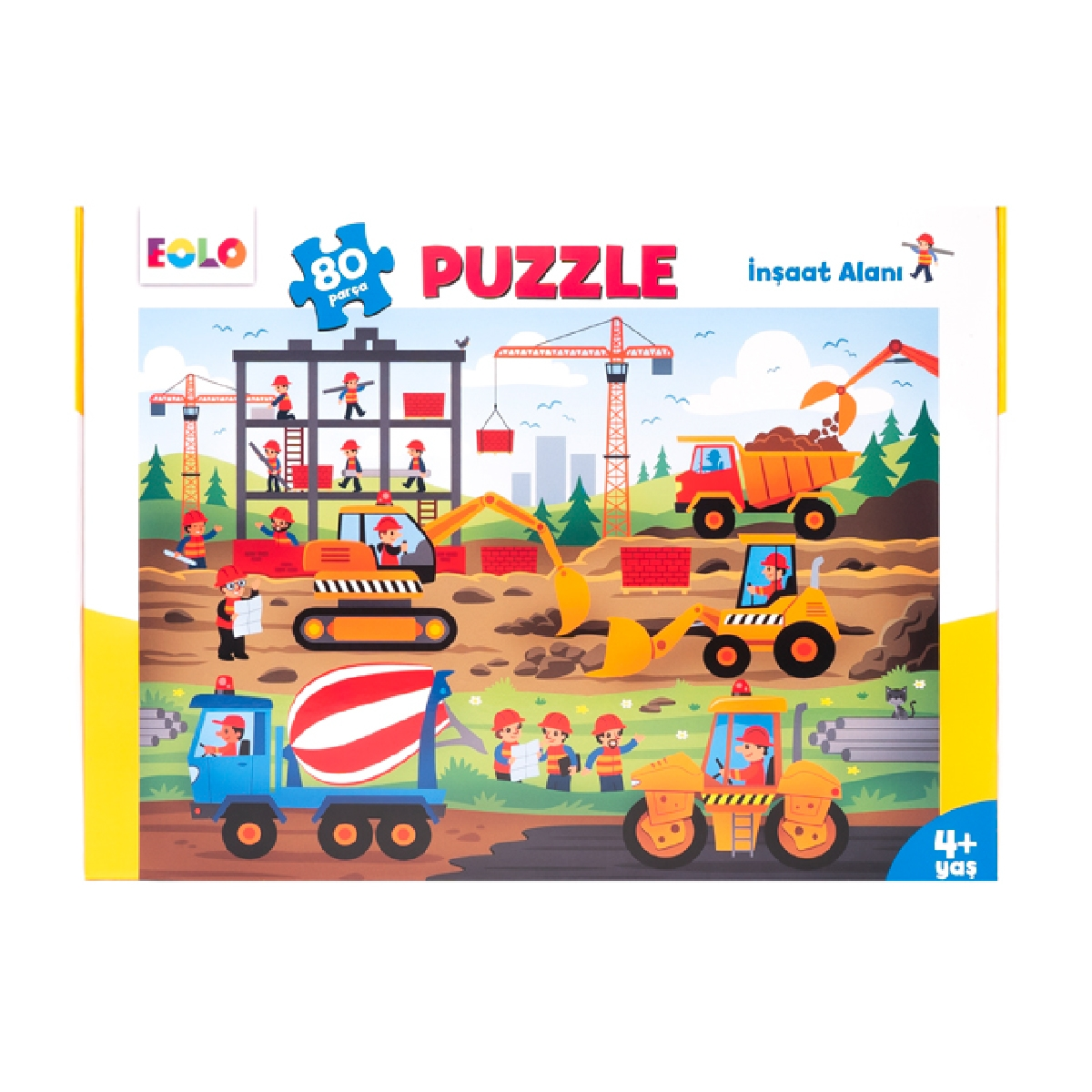 Floor Puzzle – Construction Area