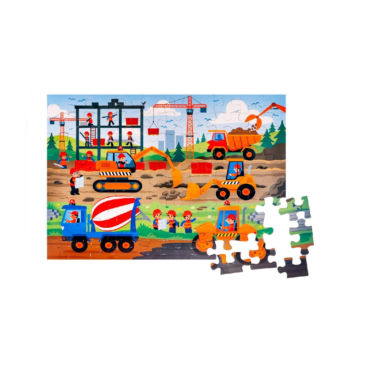 Floor Puzzle – Construction Area