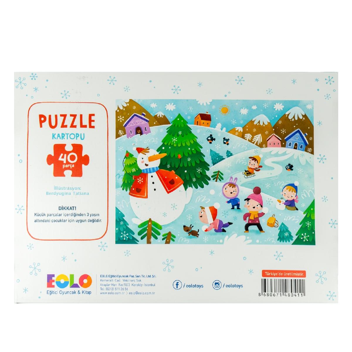 Floor Puzzle – Snowball