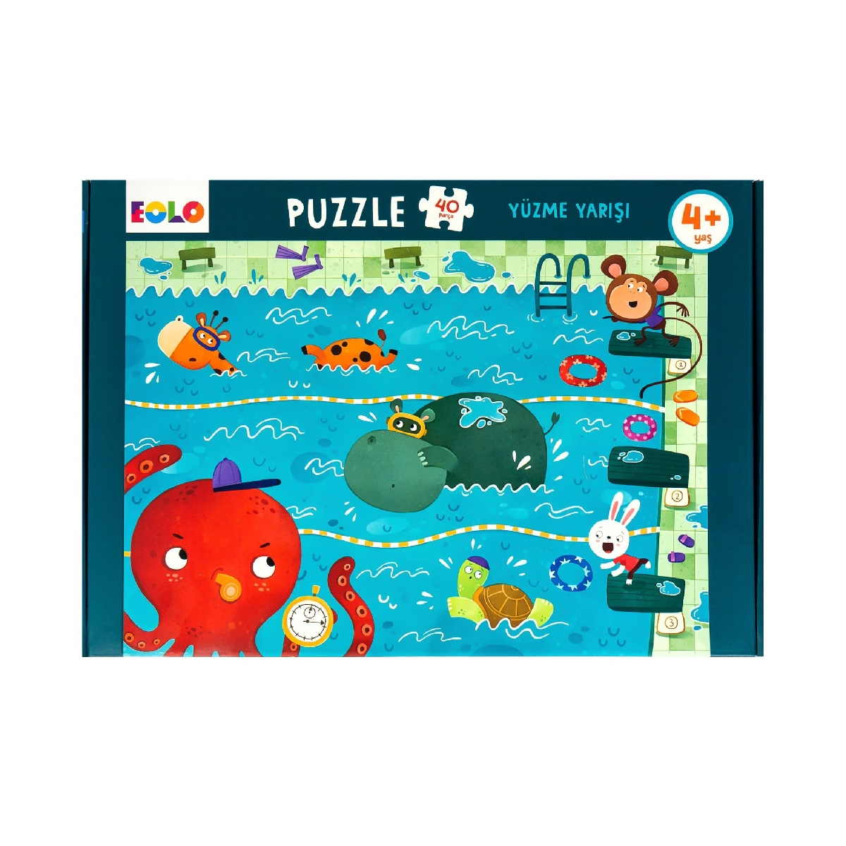Floor Puzzle – Swimming Race