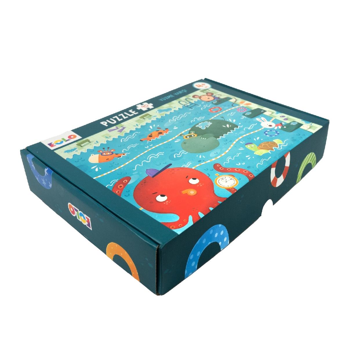 Floor Puzzle – Swimming Race