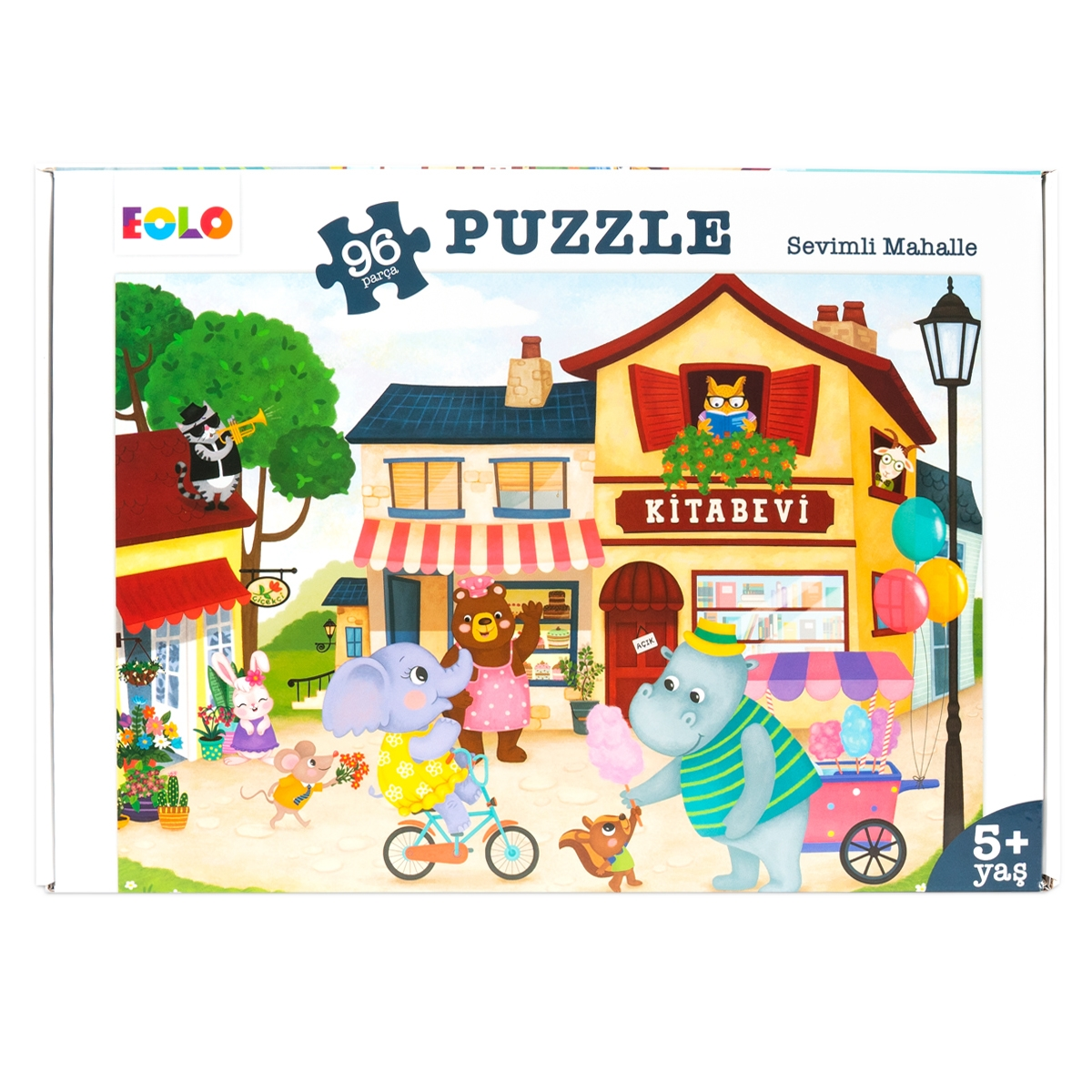 Floor Puzzle – Pretty Neighborhood