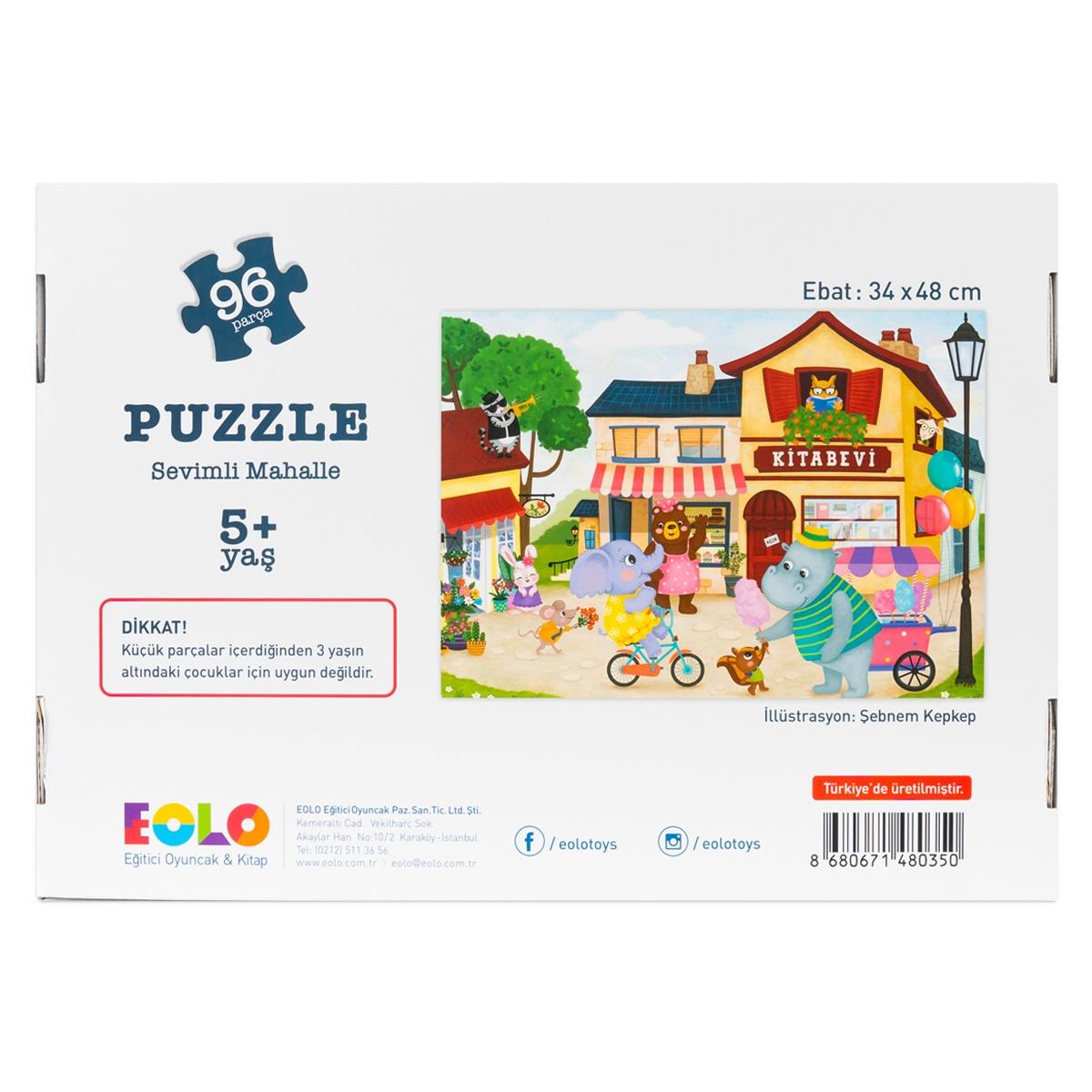 Floor Puzzle – Pretty Neighborhood