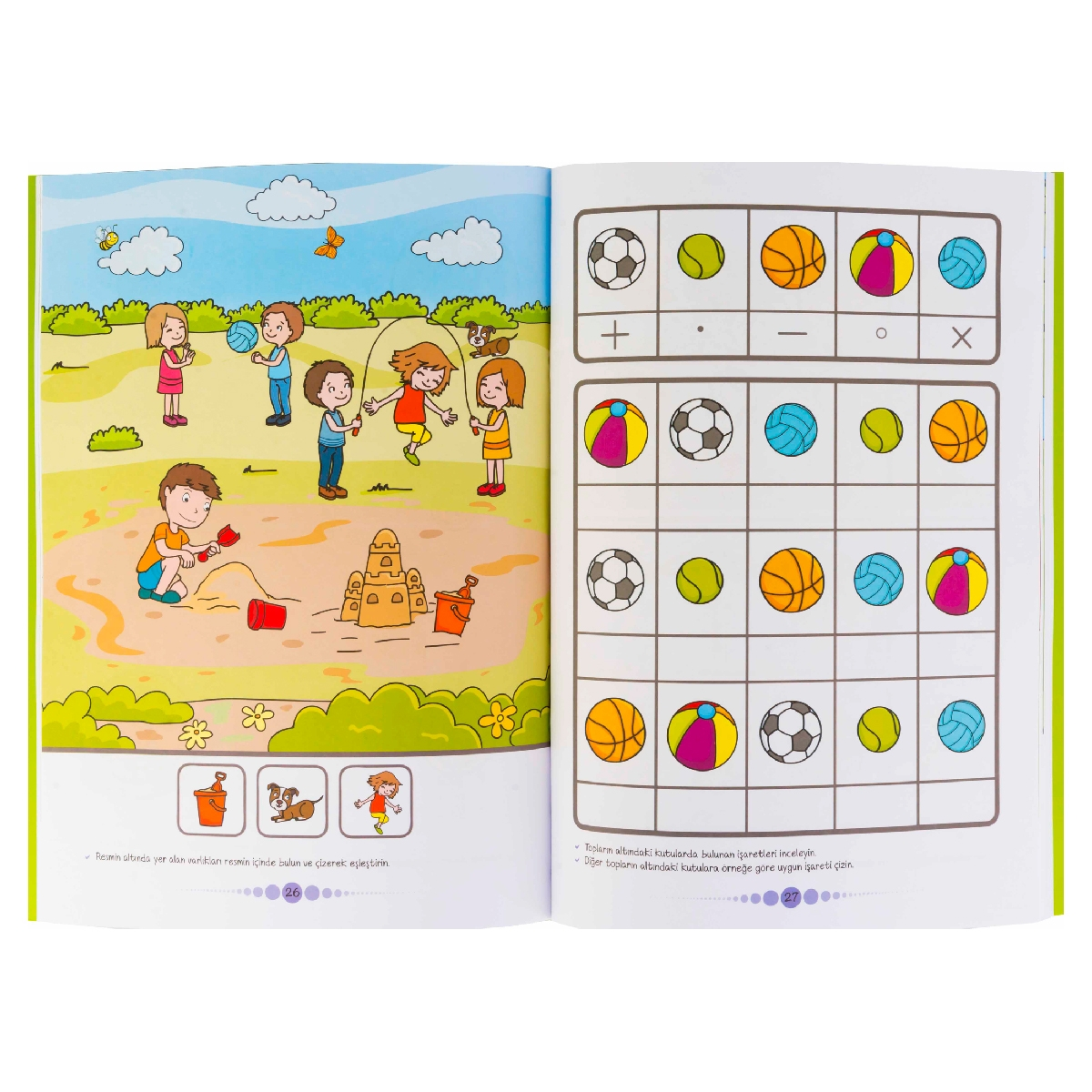 Improving Attention Skills with Activities for 3+ Age Group