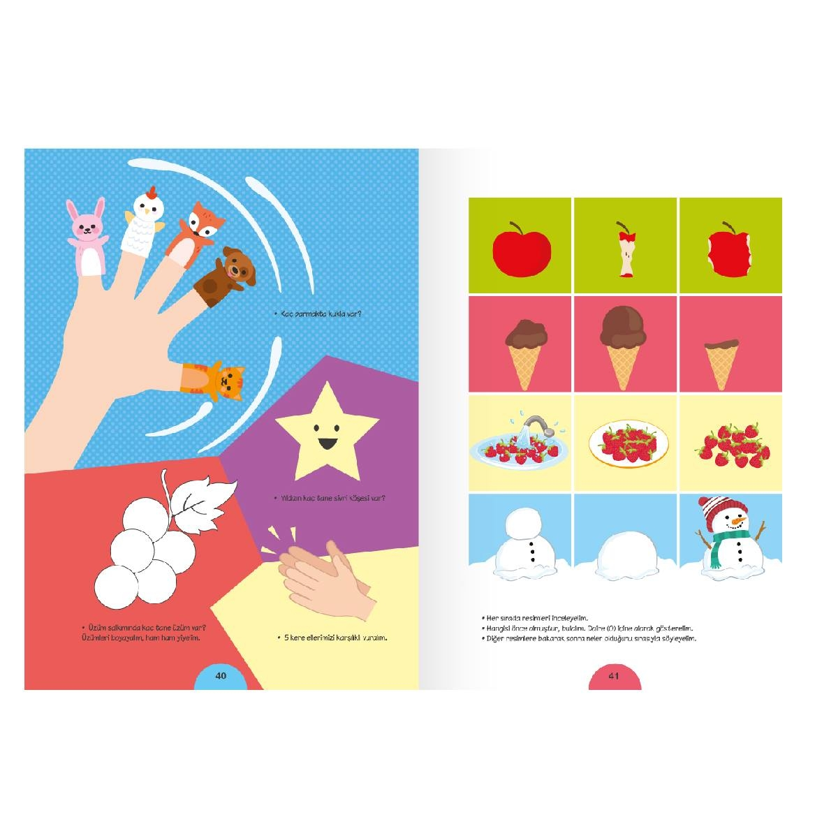 Activities with Concepts for 3+ Age Group